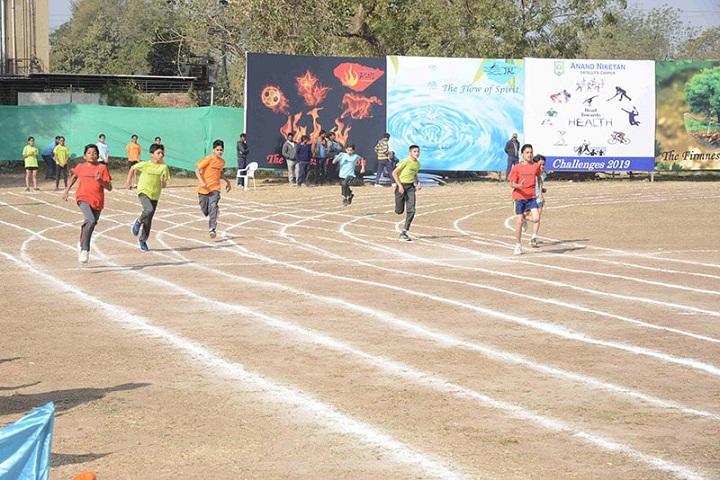 Anand Niketan-Running Race