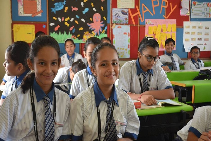 Swaminarayan Dham International School-Classroom