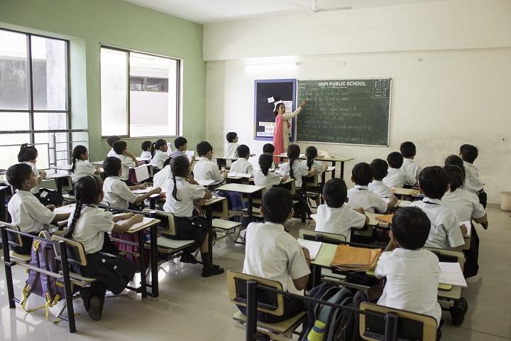 Vapi Public School-Classroom