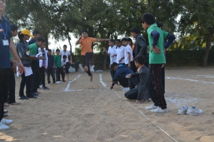 Madhav International School-Sports jump