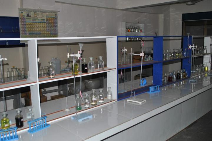 Mother Teresa World School-Laboratory Inside View