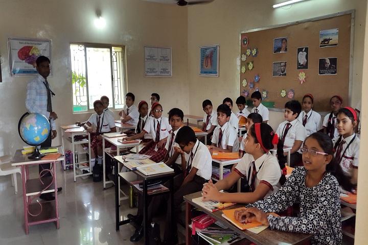 Angel English Medium School-Classroom with teacher