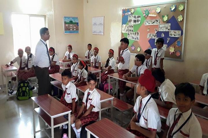 Angel English Medium School-Classroom