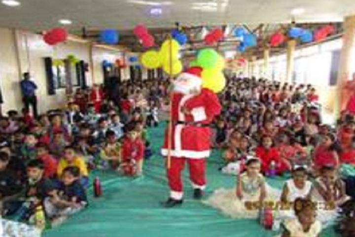 Angel English Medium School-Events christmas
