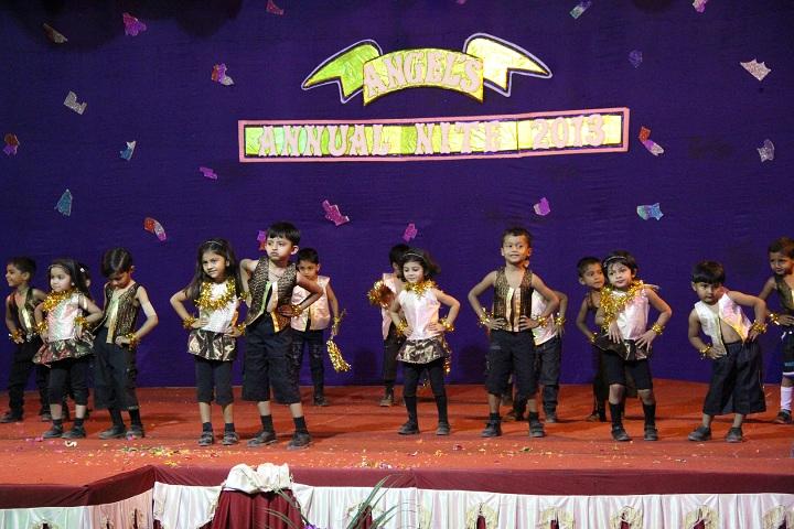 Angel English Medium School-Events dance