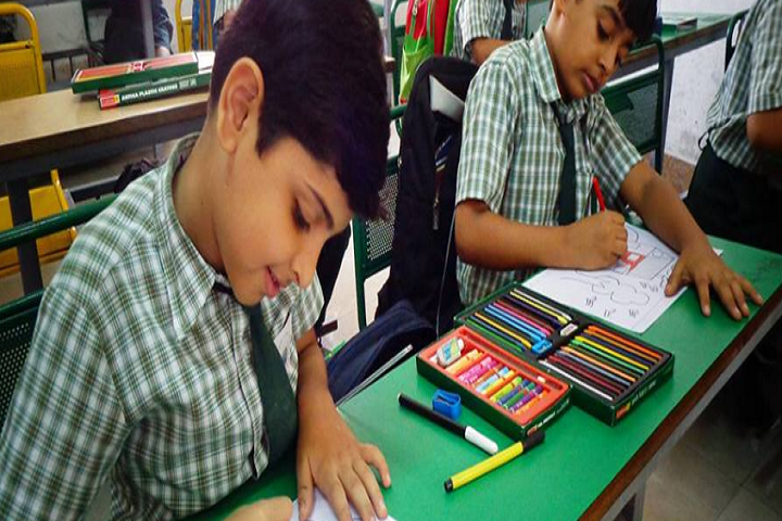 S B Sharma World School-Classroom junior