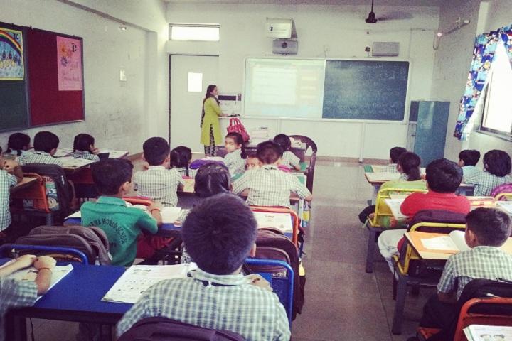S B Sharma World School-Classroom