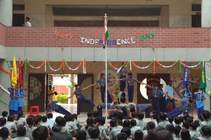 S B Sharma World School-Events independance day