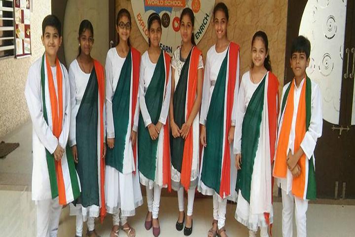 S B Sharma World School-Events republic day programme