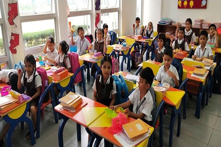 Dr Vijaypat Singhania School-Classroom
