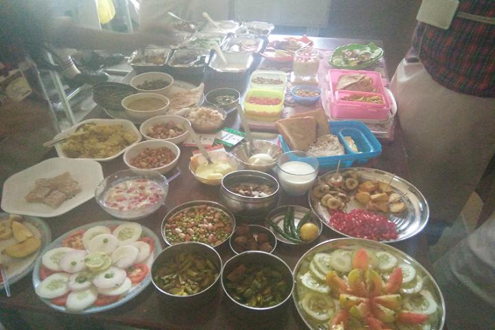 Dav Ispat Public School - Food Festival