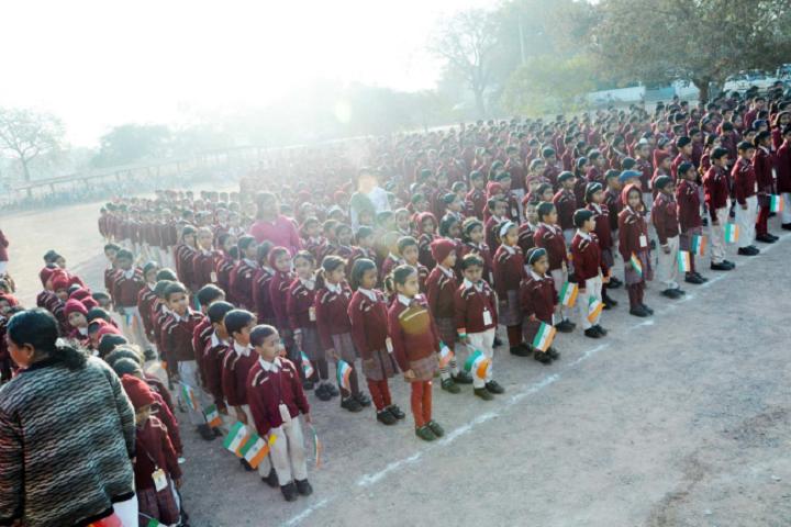 Dav Ispat Public School - Independence Day