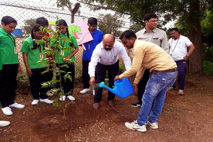 Dav Ispat Public School - Tree Plantation