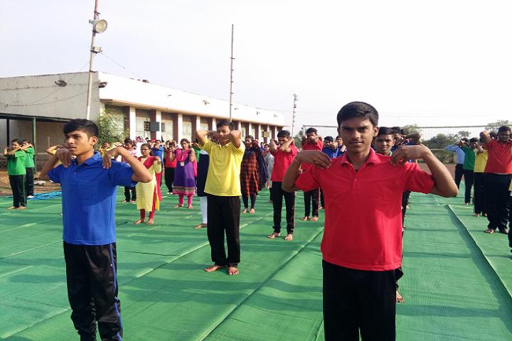 Dav Ispat Public School - Yoga Class