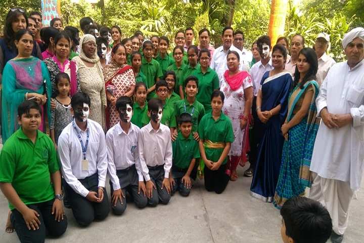 St Kabirs Residential and Day School-Face Painting Competition