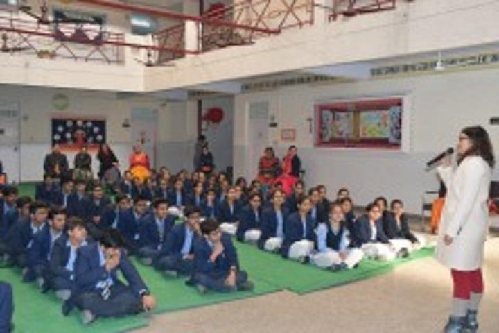 Lord Jesus Public School-Students Meeting