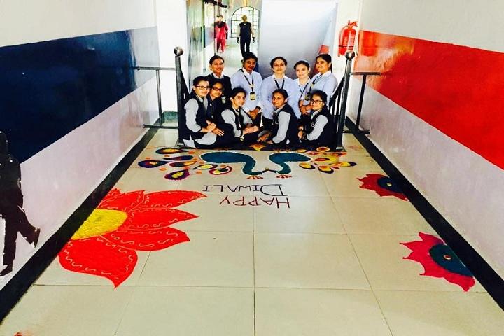 Adarsh Public School-Events diwali