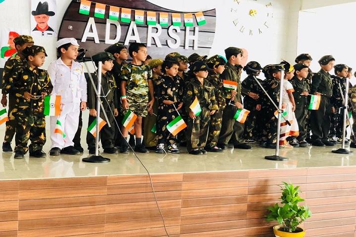 Adarsh Public School-Events independance day