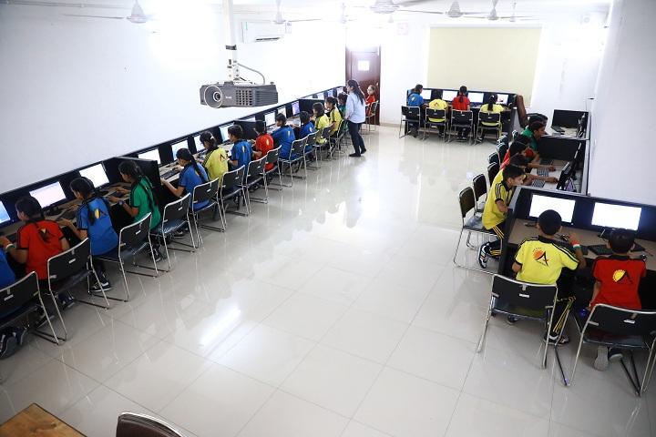 Adarsh Public School-IT-Lab full view