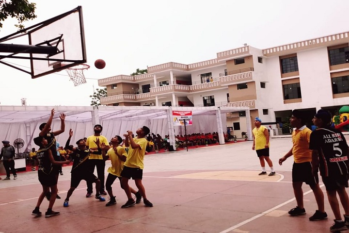 Adarsh Public School-Sports basketball