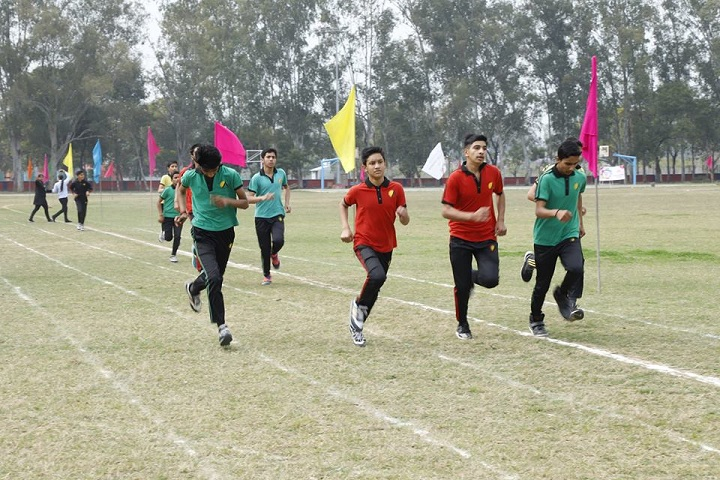 Adarsh Public School-Sports running