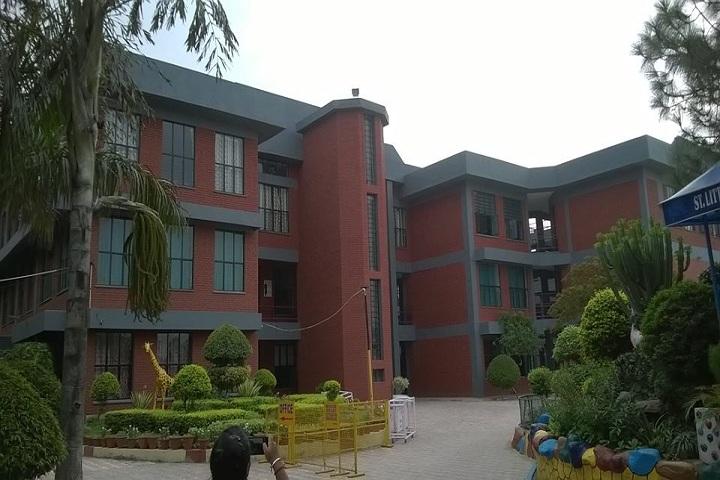 Little Flower Convent School-Campus-View front view