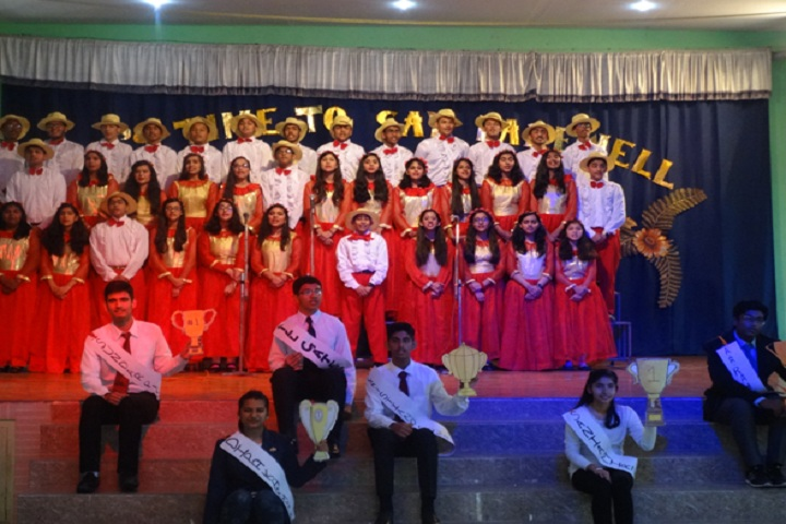 Little Flower Convent School-Events singing