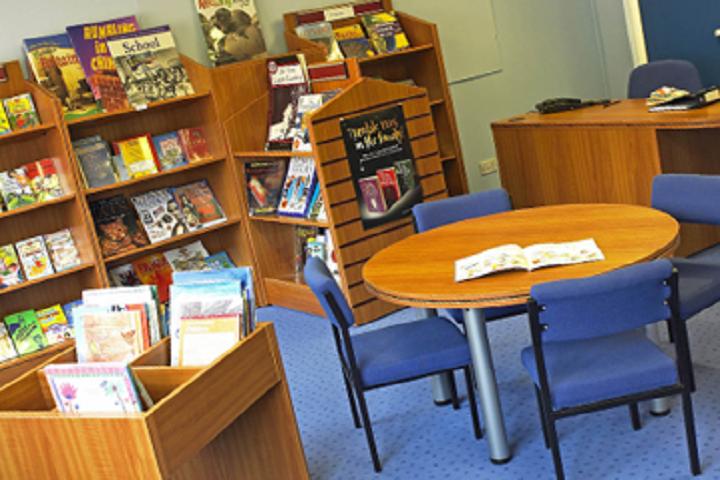 Little Flower Convent School-Library