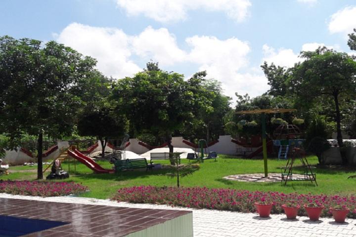 Little Flower Convent School-Sports playground