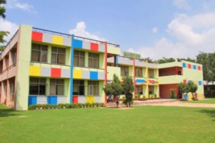Golden Heights School-Campus View