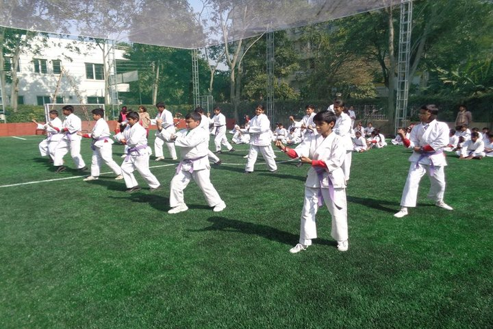 Golden Heights School-Karate