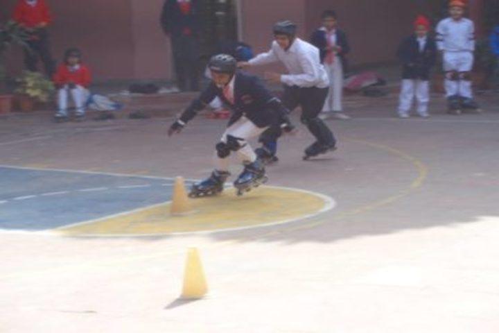 Golden Heights School-Skating