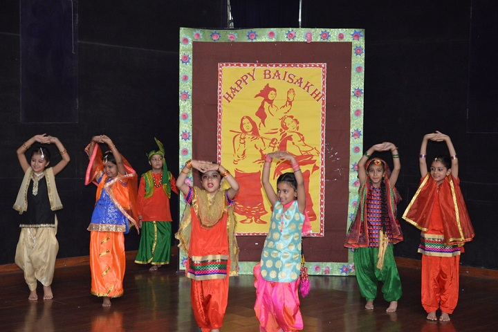Jiva Public School-Events dance