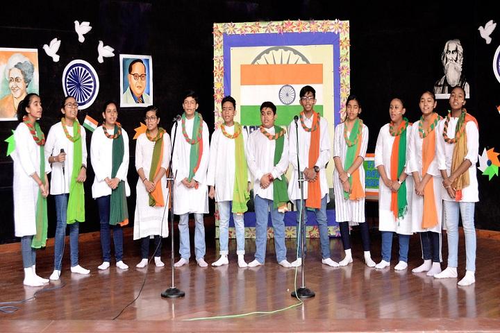 Jiva Public School-Events republic day