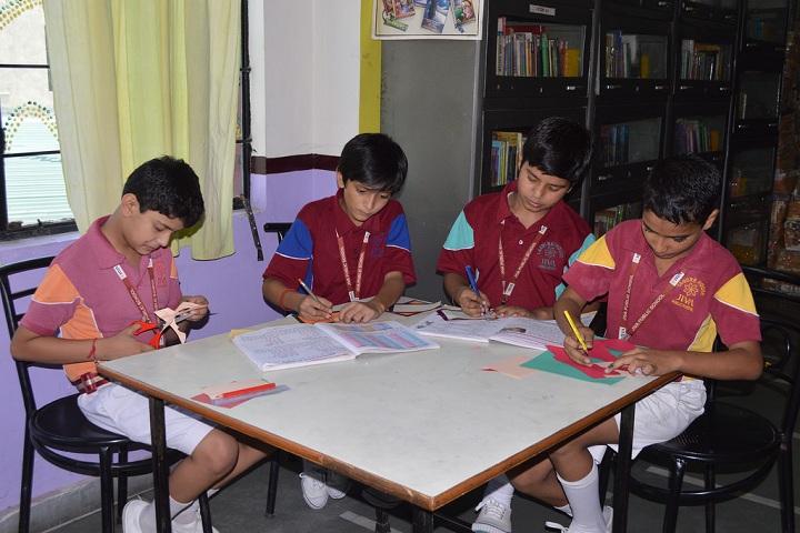 Jiva Public School-Library with reading room