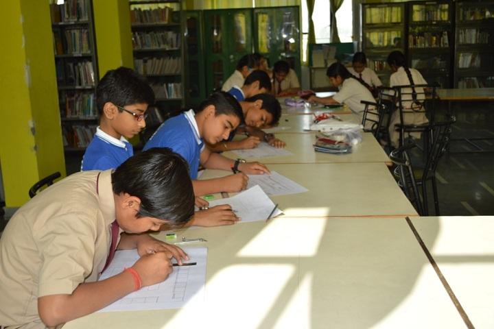 Jiva Public School-Library