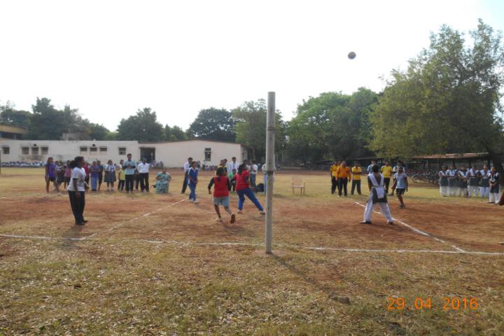 DAV Ispat Senior Secondary Public School-Volly Ball