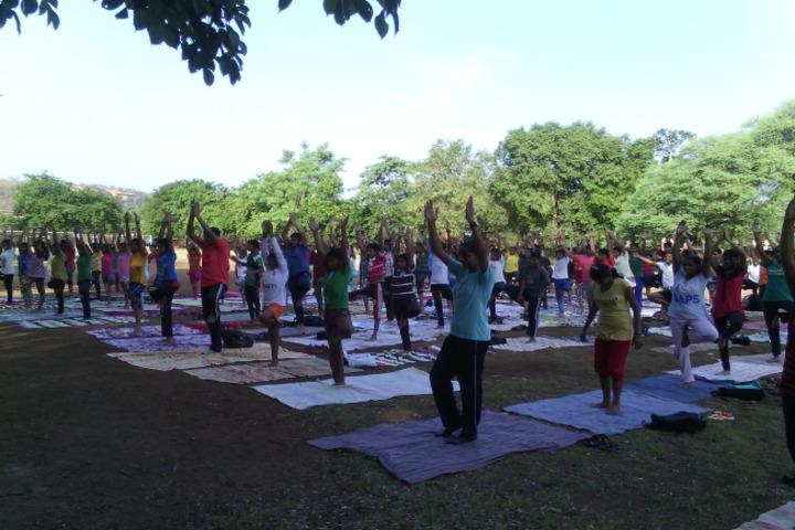 DAV Ispat Senior Secondary Public School-Yoga Day