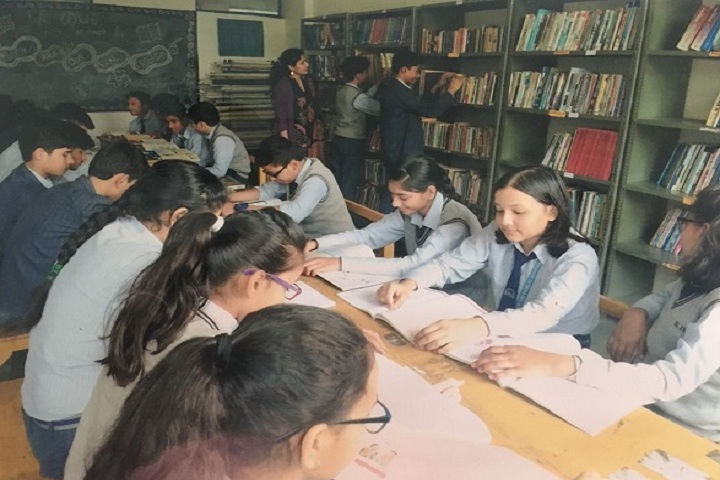 Rishi Public School-Library