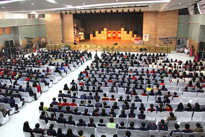 The Shri Ram School-Auditorium full view