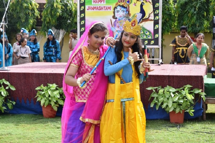 Lt Atul Katarya Memorial School-Events janmasthami