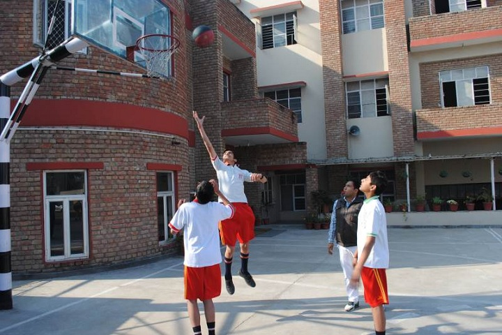 Lt Atul Katarya Memorial School-Sports basketball