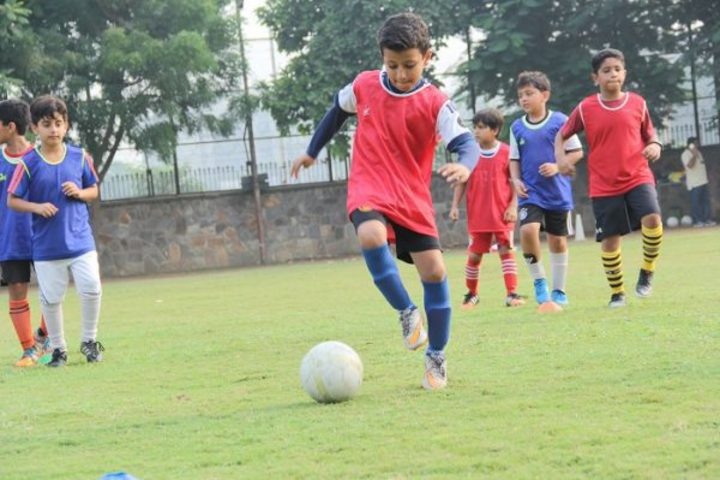 Scottish High International School-Football Match of School