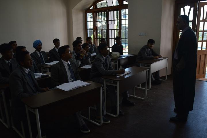 Bishop Cotton School-Classroom with teacher