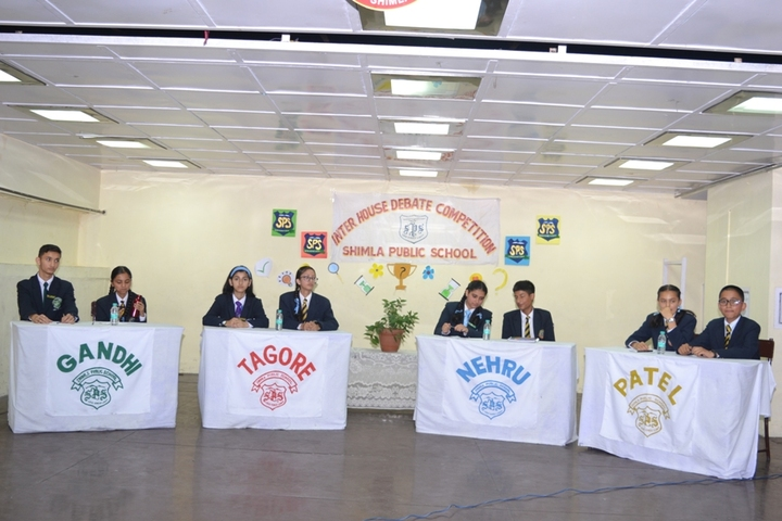 Shimla Public School-Debate Competition
