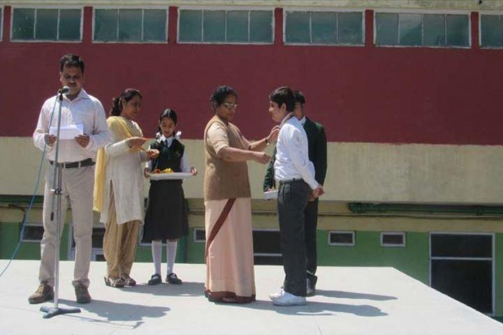 Sacred Heart Senior Secondary School-Prize Distribution