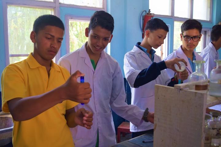Trinity School-Experiment