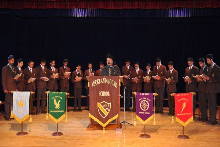 Auckland House School For Boys-Oath Taking