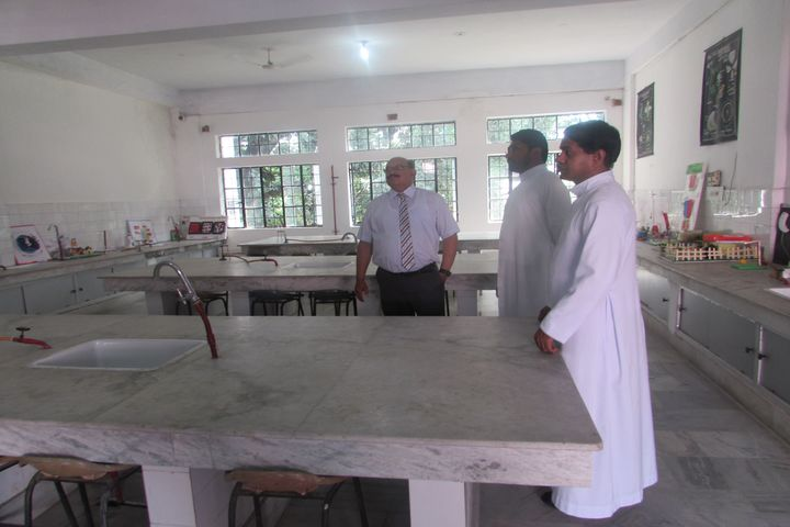 St PeterS Higher Secondary School-Science Lab