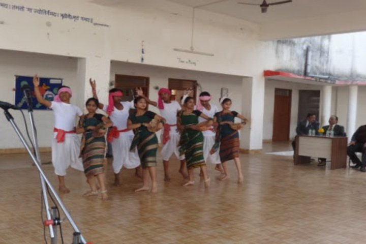 DAV Mukhyamantri Public School-Dance Performance